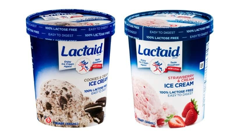 Lactaid Lactose Free Ice Cream