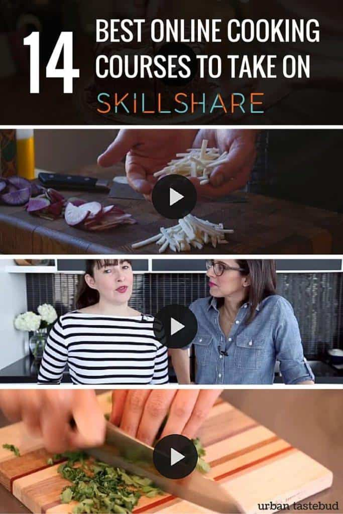 Best Online Cooking Courses on Skillshare