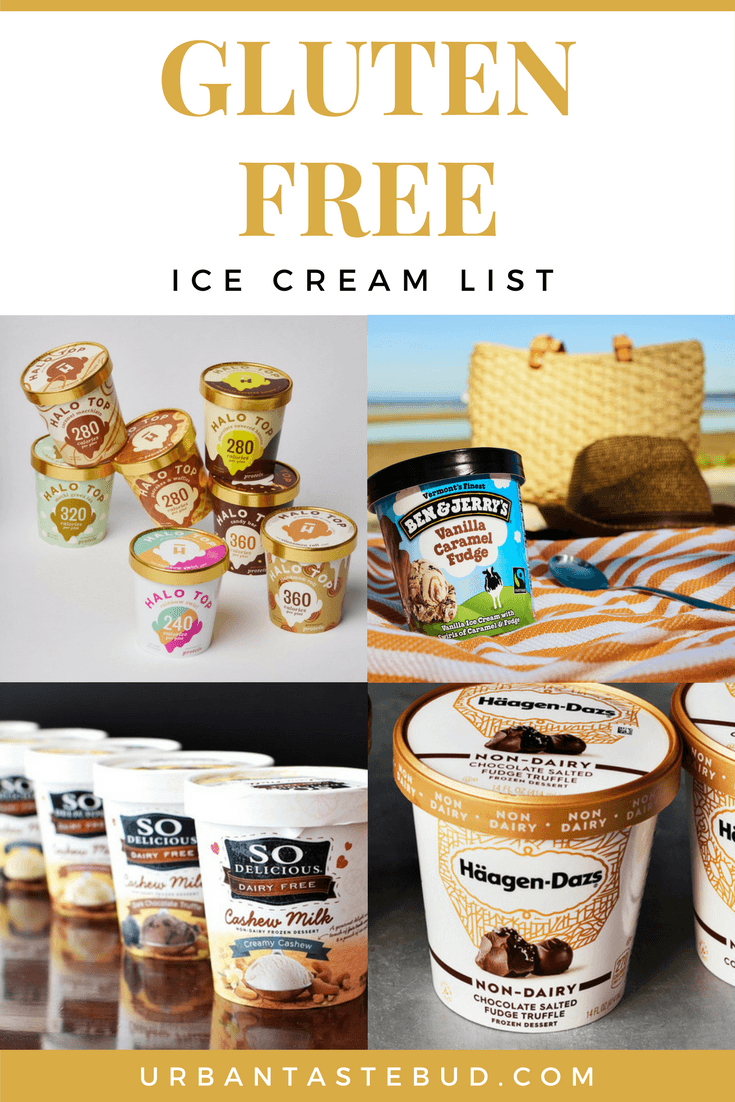 Gluten free ice cream brands