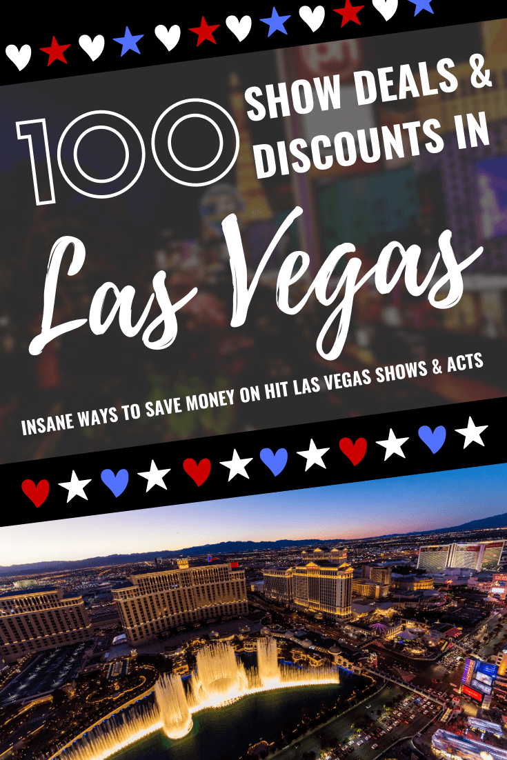 Las Vegas Show Deals and Discounts